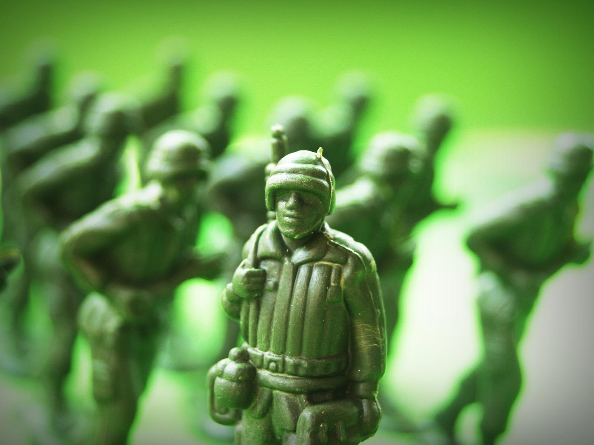 おもちゃの軍隊